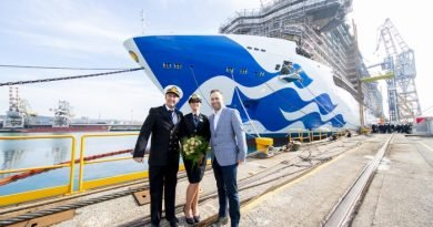 Princess Cruises welcomes milestones for three new ships