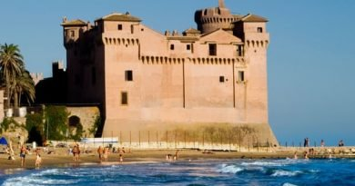 The medieval castle near Rome that's now a hostel