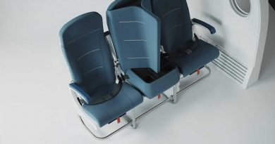Dividers in This New Plane Seat Design Ensure Both Privacy and Social Distance