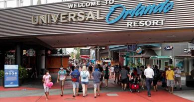 Universal Orlando drops mask requirement outdoors, but visitors still must wear them on rides and indoors