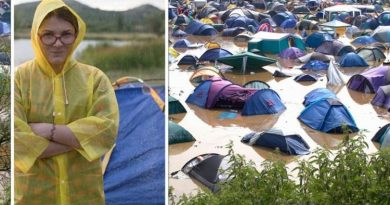 Campers' tips for setting up in the rain and the 'very last thing' you must do